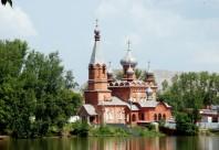 Свято-Никольский храм город Сатка Челябинская область храмы церкви
