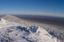 Хребет Зюраткуль зимой